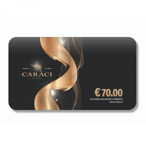 Card Regalo al Pistacchio 70€